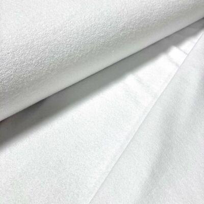 Hófehér egyfalas frottír
