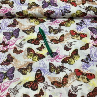 pillangó Pamut karton, 90cm