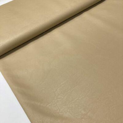 homok színű textilhátú műbőr