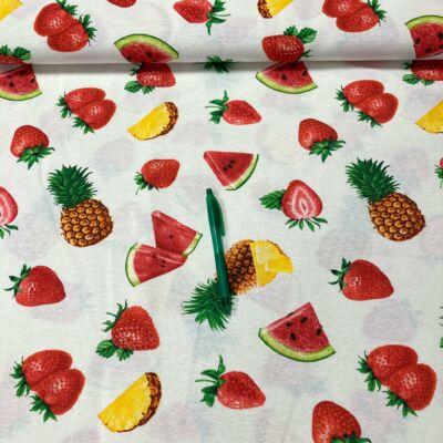 nyári gyümölcs mintás loneta