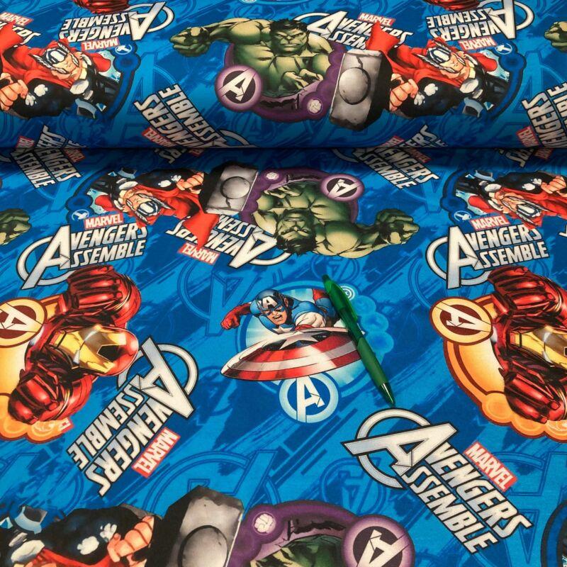 Marvel mintás futter szabadidő anyag