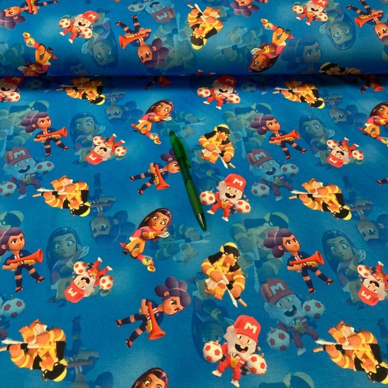 Mario mintás futter szabadidő anyag