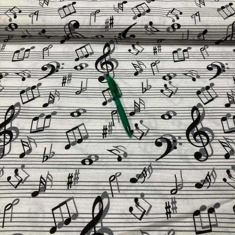 hangjegy mintás loneta vászon