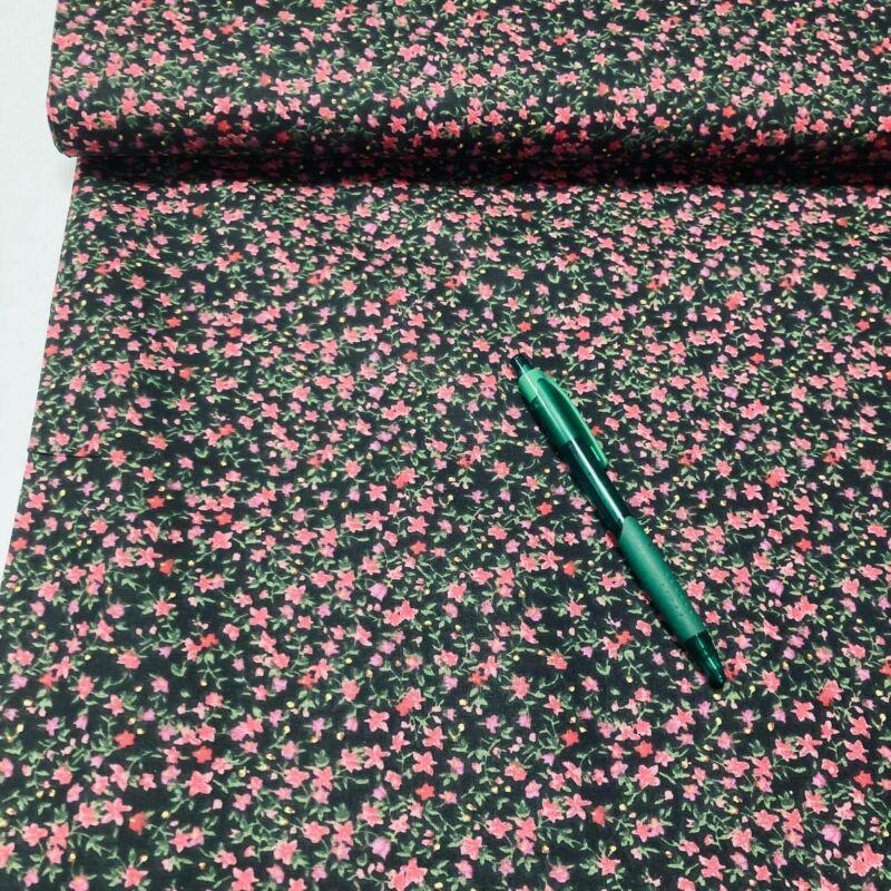 apró virág mintás pamut karton