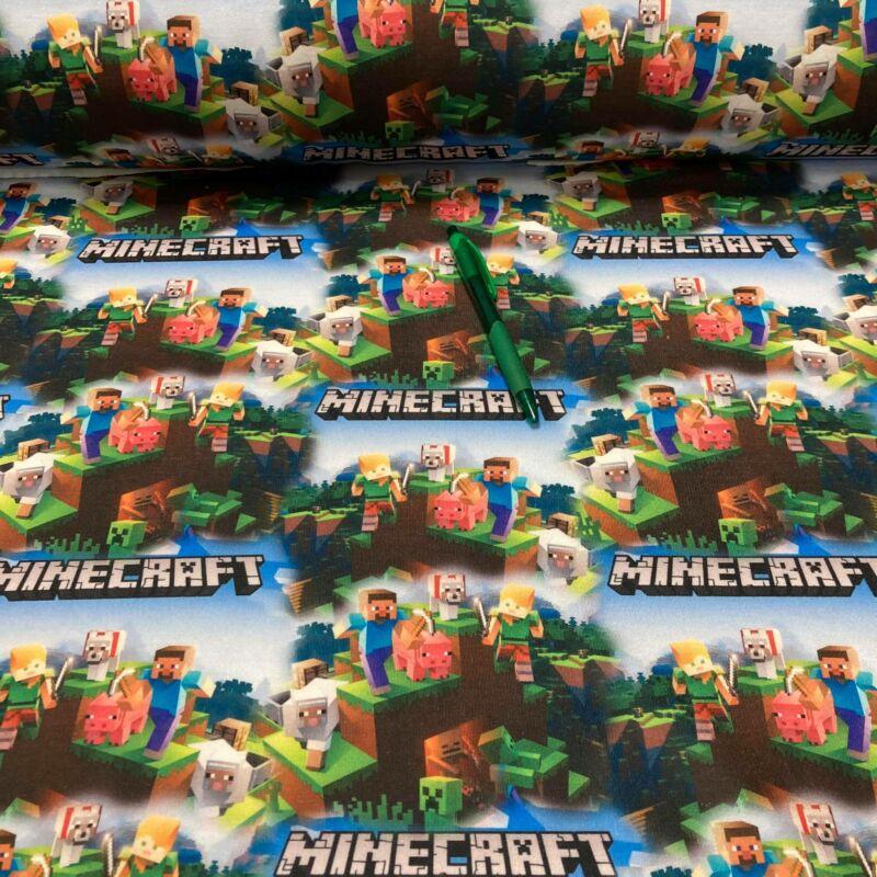 Minecraft mintás futter szabadidő anyag