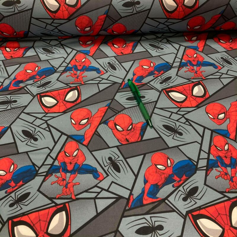 pókember mintás futter szabadidő anyag