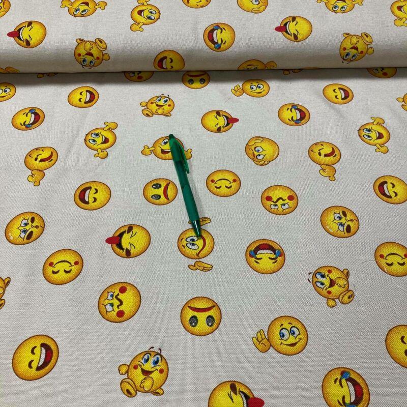 smile mintás loneta vászon