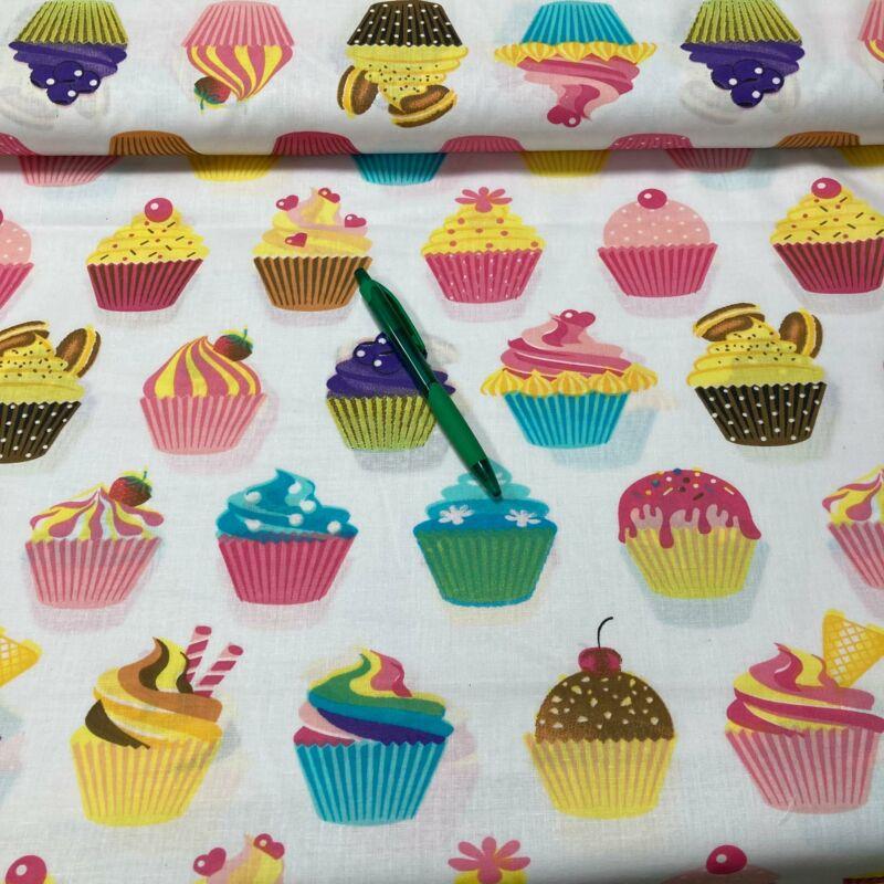 muffin mintás pamut karton