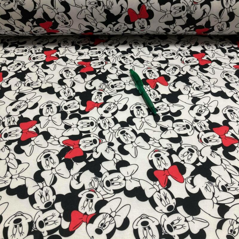 Minnie egér mintás futter szabadidő anyag