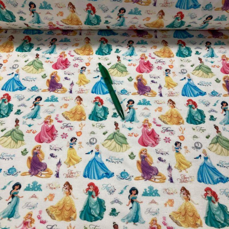 Disney hercegnők mintás kevert szálas futter