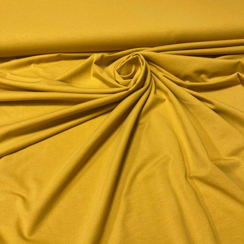 mustár színű pamutdzsörzé