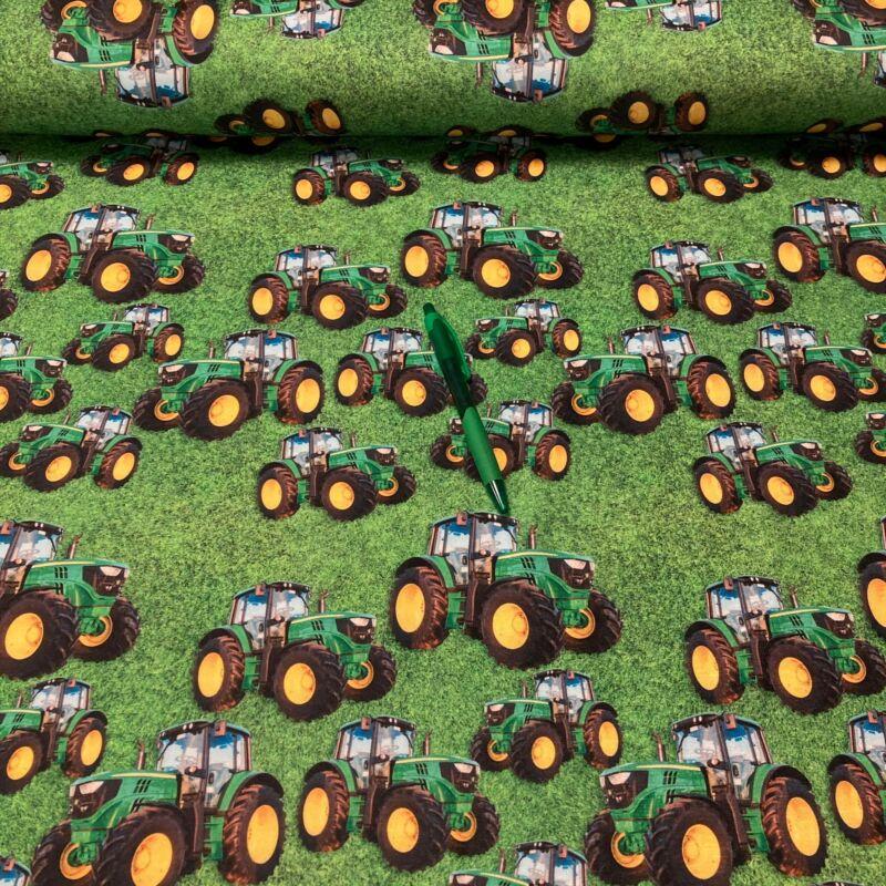 traktor mintás futter szabadidő anyag