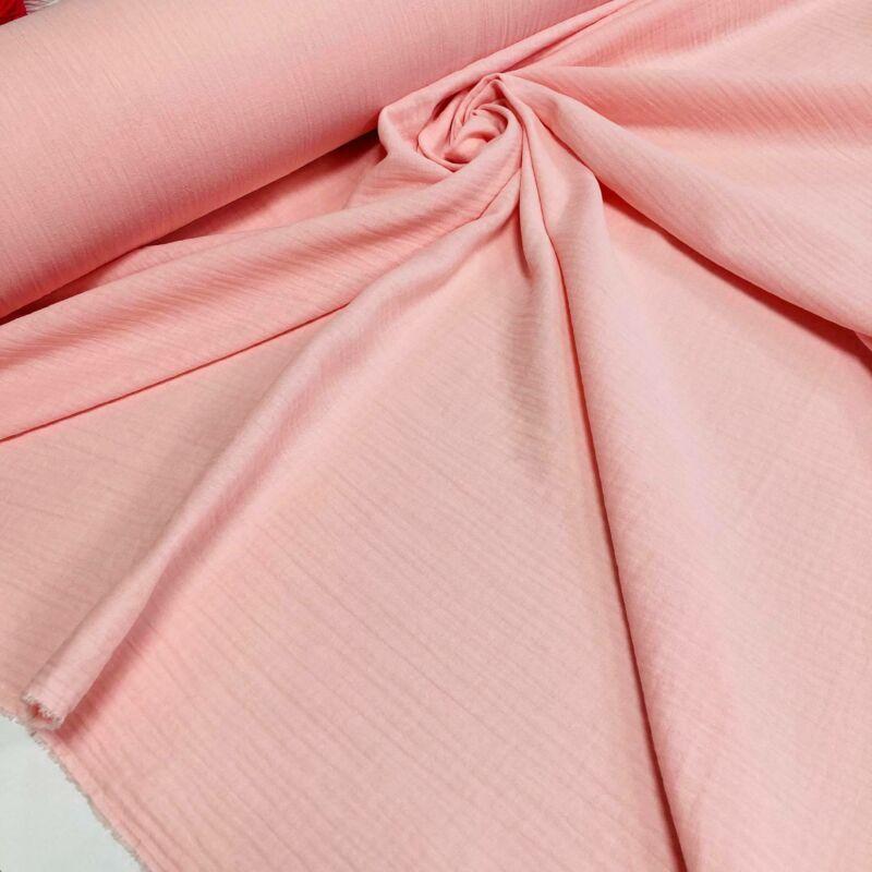 rózsaszín duplafalú géz anyag