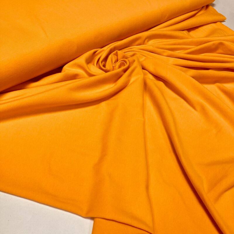 világos narancs pamutdzsörzé