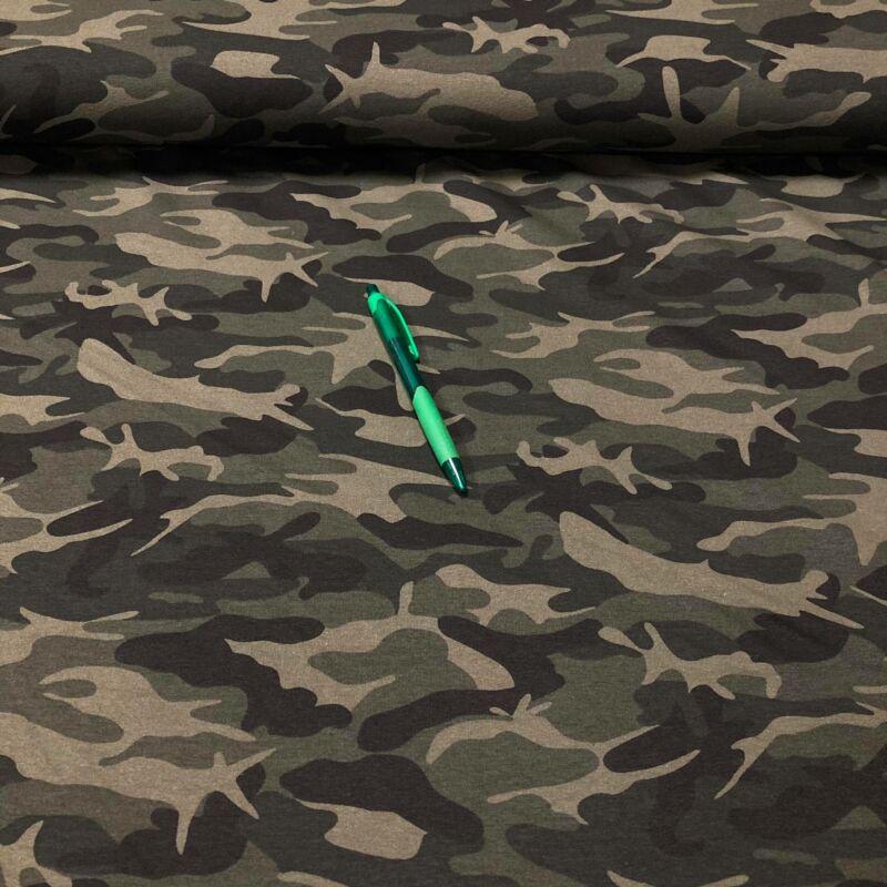 terep mintás pamut futter szabadidő anyag